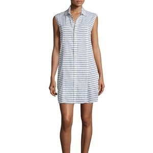 Hudson | Jules Sleeveless Striped Shirtdress